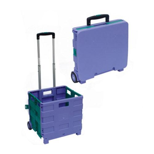 plastik palosje pazar karro lavanderi Udhëtim portativ qerre me timon